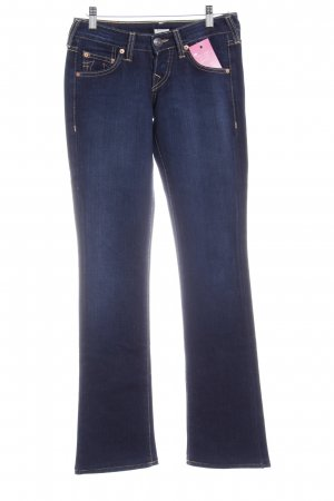 True Religion Jeans svasati blu scuro stile casual
