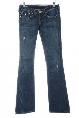 True Religion Boot Cut Jeans dunkelblau Casual-Look