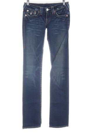 True Religion Boot Cut Jeans dunkelblau Casual-Look