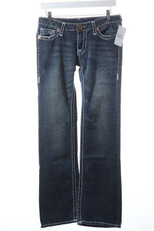 """True Religion Boot Cut Jeans """"Gina Super T"""" blau"""