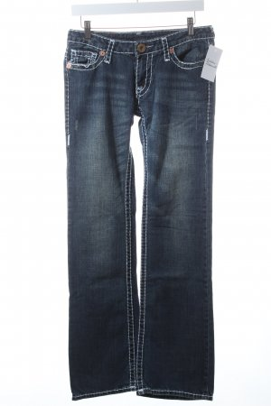 "True Religion Boot Cut Jeans ""Gina Super T"" blau"