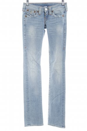 True Religion Boot Cut Jeans himmelblau Casual-Look