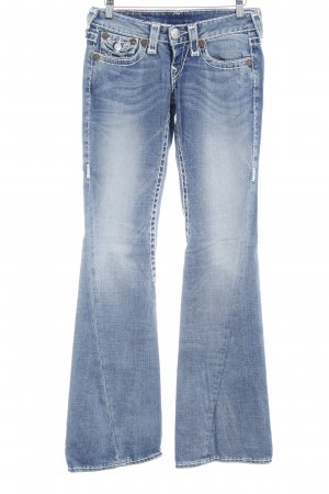 True Religion Boot Cut Jeans kornblumenblau Casual-Look