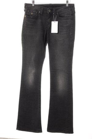 True Religion Boot Cut spijkerbroek zwart-antraciet casual uitstraling