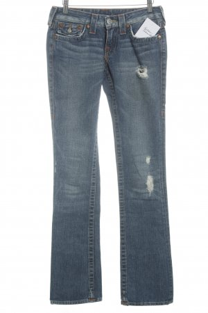True Religion Boot Cut Jeans stahlblau-blau Casual-Look