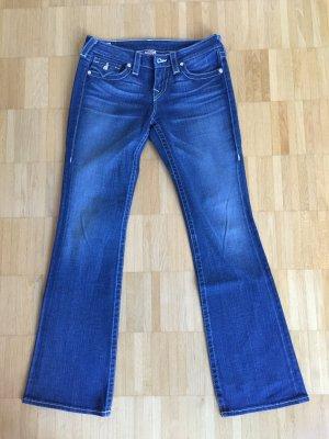 True Religion Boot Cut spijkerbroek blauw Gemengd weefsel