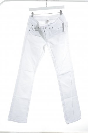 True Religion Boot Cut Jeans weiß Casual-Look