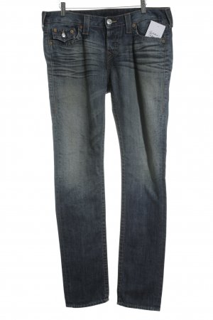 True Religion Boyfriendjeans blau-blassblau Casual-Look