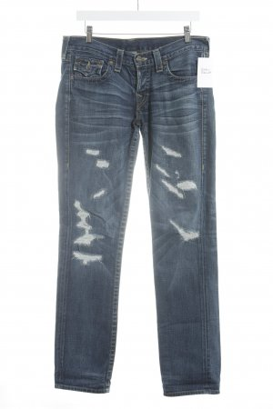 "True Religion Boyfriendjeans ""Jorda - Rough'n Ready First Edition"" blau"