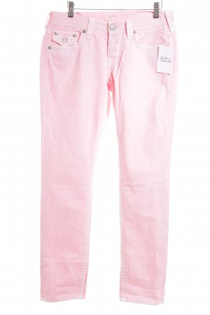 True Religion Boyfriendjeans rosa Casual-Look