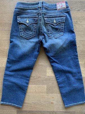 True Religion 3/4-jeans blauw