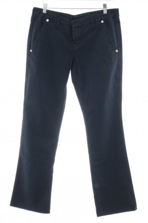 True Religion Chinohose dunkelblau Marine-Look
