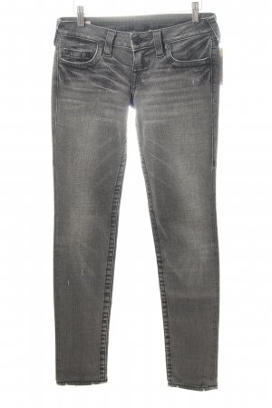 True Religion Five-Pocket-Hose grau Skater-Look