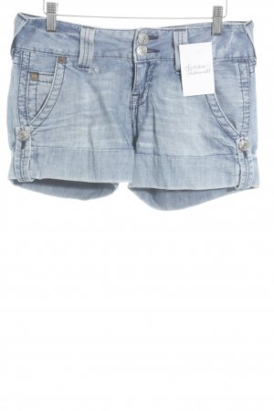 True Religion Hot Pants hellblau