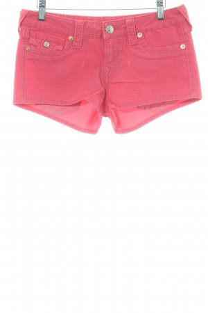 True Religion Hot Pants magenta Casual-Look