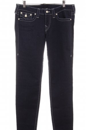 True Religion Hüfthose dunkelblau Jeans-Optik