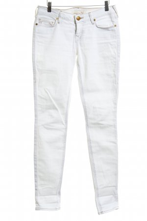 True Religion Lage taille broek wit casual uitstraling