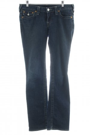 """True Religion Low Rise Jeans """"Straight"""" blue"""