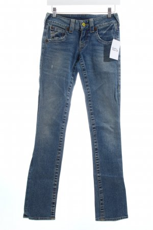True Religion Hüftjeans blau Casual-Look