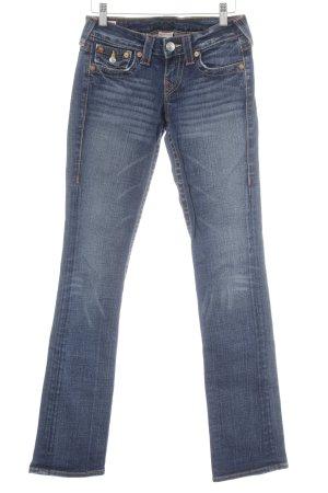 True Religion Jeans taille basse bleu foncé style décontracté