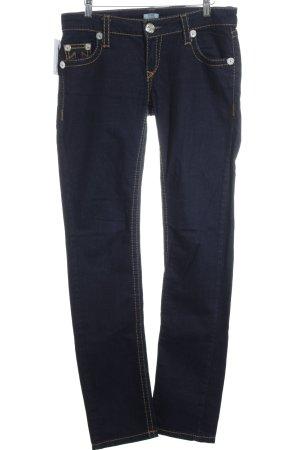 True Religion Hüftjeans dunkelblau Jeans-Optik