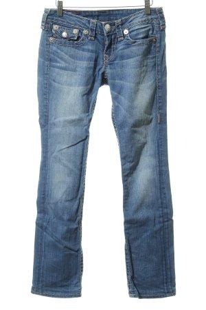 True Religion Jeans taille basse multicolore style décontracté