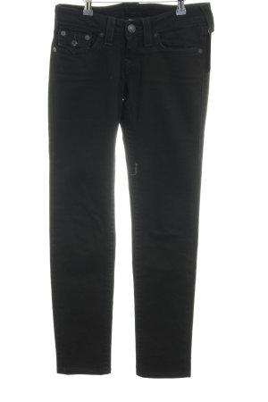 True Religion Jeans taille basse noir style décontracté