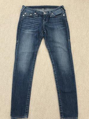 True Religion Jeans coupe-droite bleu