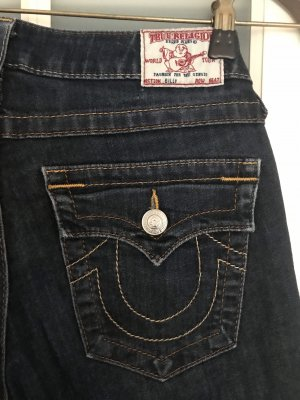 True Religion Low Rise Jeans dark blue