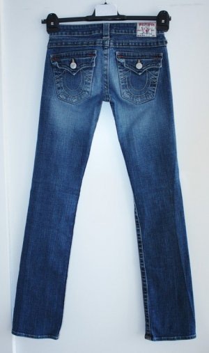 True Religion Jeans Billy W27 L32 Gr 36 Seat neuwertig Destroyed Jeans