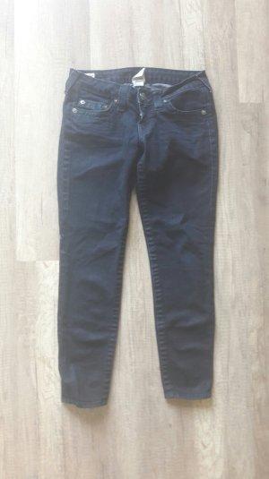 True Religion Jeans Cropped Skinny Slim Fit Anklejeans 27