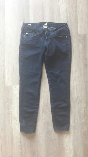 True Religion Jeans Cropped Skinny Slim Fit Anklejeans 27