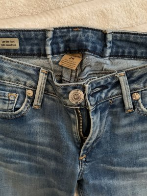 True Religion Low Rise Jeans blue