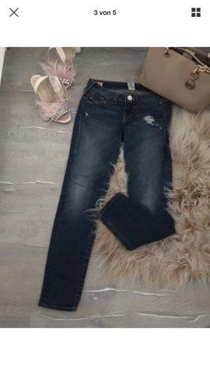 True Religion Jeans Gr. 26 mit Strassknöpfe