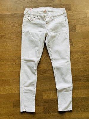 True Religion Stretch Jeans white