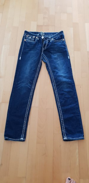 true religion Jeans gr.31 blau mit weissen Nähten