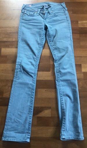 True Religion Jeans svasati azzurro