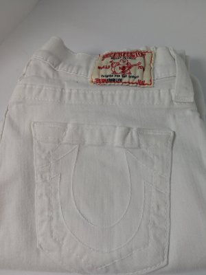True Religion Jeans a 7/8 bianco