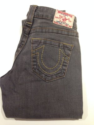 True Religion Jeans in hellgrau
