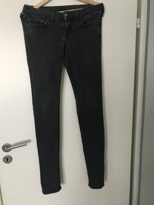 True Religion Jeans in schwarz