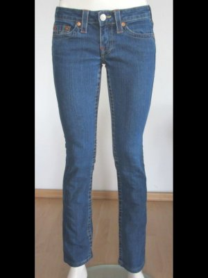 TRUE RELIGION JEANS JOHNNY BLAU LOGO GR.26