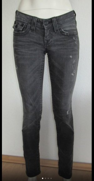 TRUE RELIGION JEANS JULIE GR. 26 GRAU