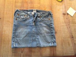 True Religion Jeans mini Rock used Festival Style 25 34/36