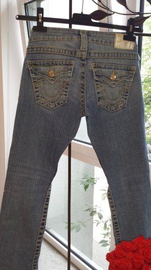True Religion Jeans mit Swarovski Crystals