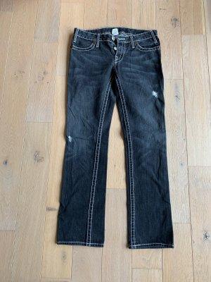 True Religion Jeans - schwarz/anthrazit