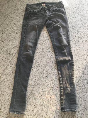 True Religion Jeans schwarze Waschung