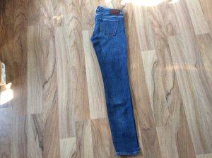 True Religion Jeans taille basse bleu acier tissu mixte