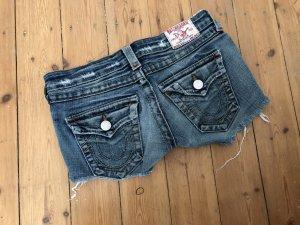 True Religion Pantaloncino di jeans multicolore