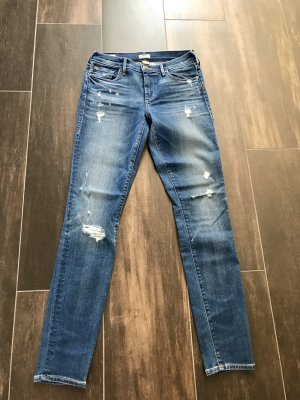 True Religion Jeans Super Skinny Used Look Gr 26 27