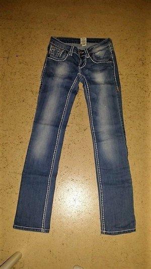 True Religion Jeans weiße Nähte wie NEU